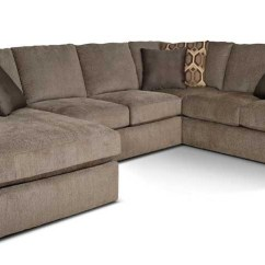 Large Plush Sectional Sofa Double Bed Size Sleeper England Abbie Left Chaise With Cushions Gill Brothers Furniture