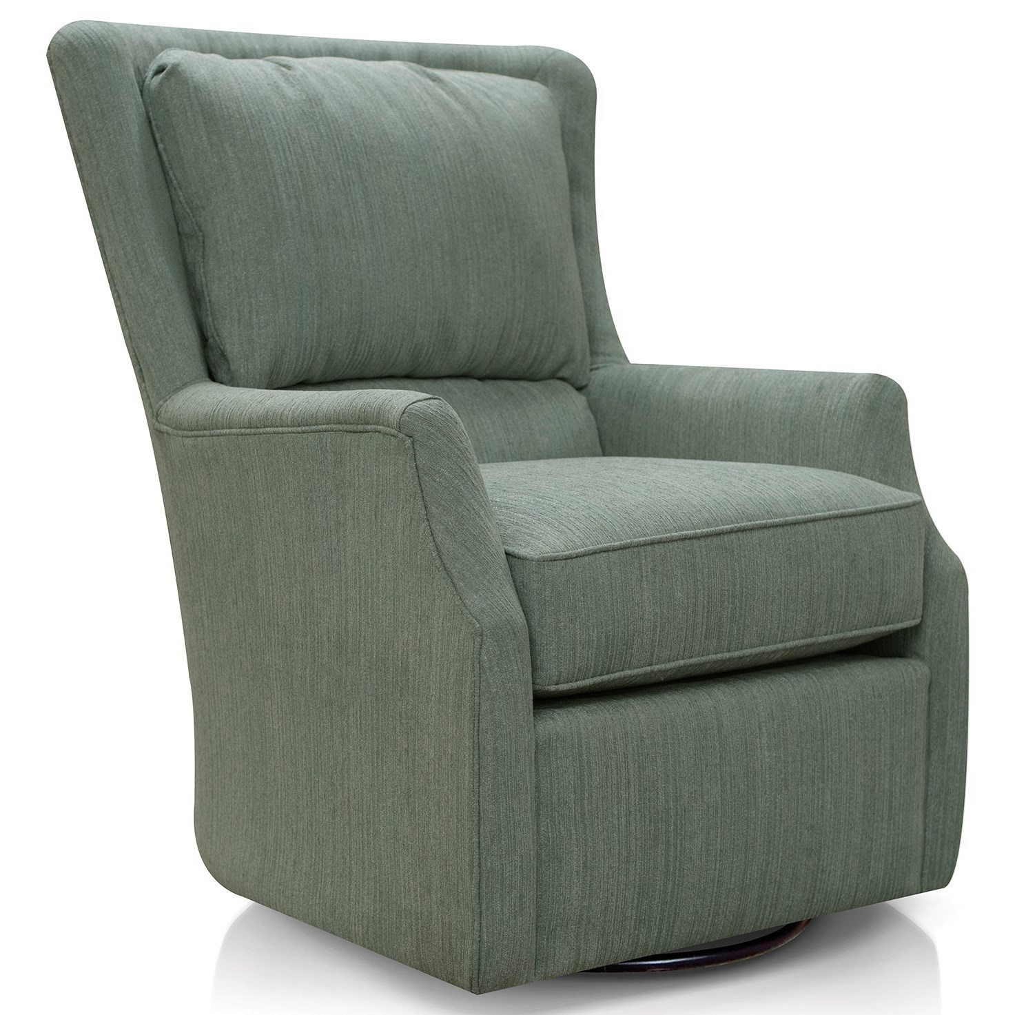 Plush Chairs Loren Swivel Chair By England At Novello Home Furnishings