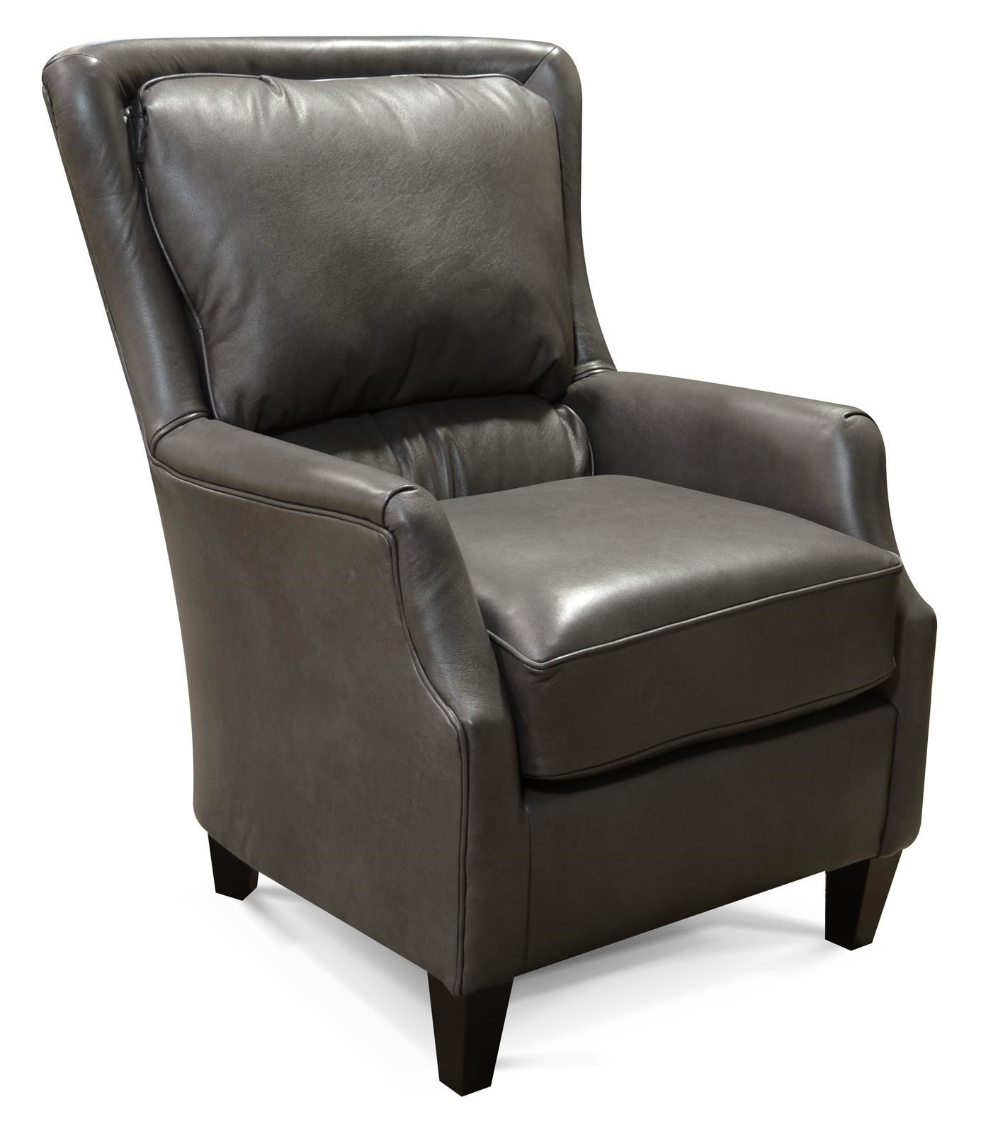 Wood Club Chair Louis Upholstered Club Chair With Tapered Wood Feet By England At Sheely S Furniture Appliance
