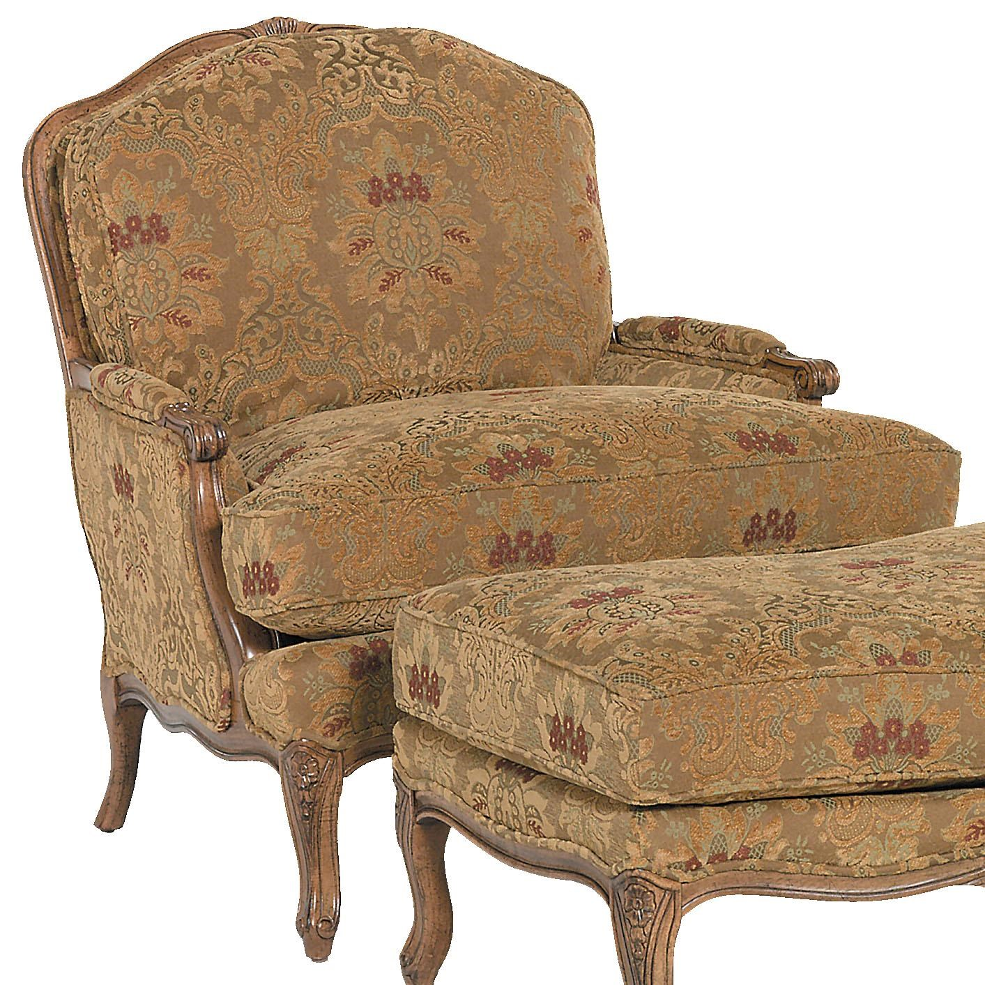 Fairfield Chairs Chairs Traditionally Styled Lounge Chair By Fairfield At Lindy S Furniture Company