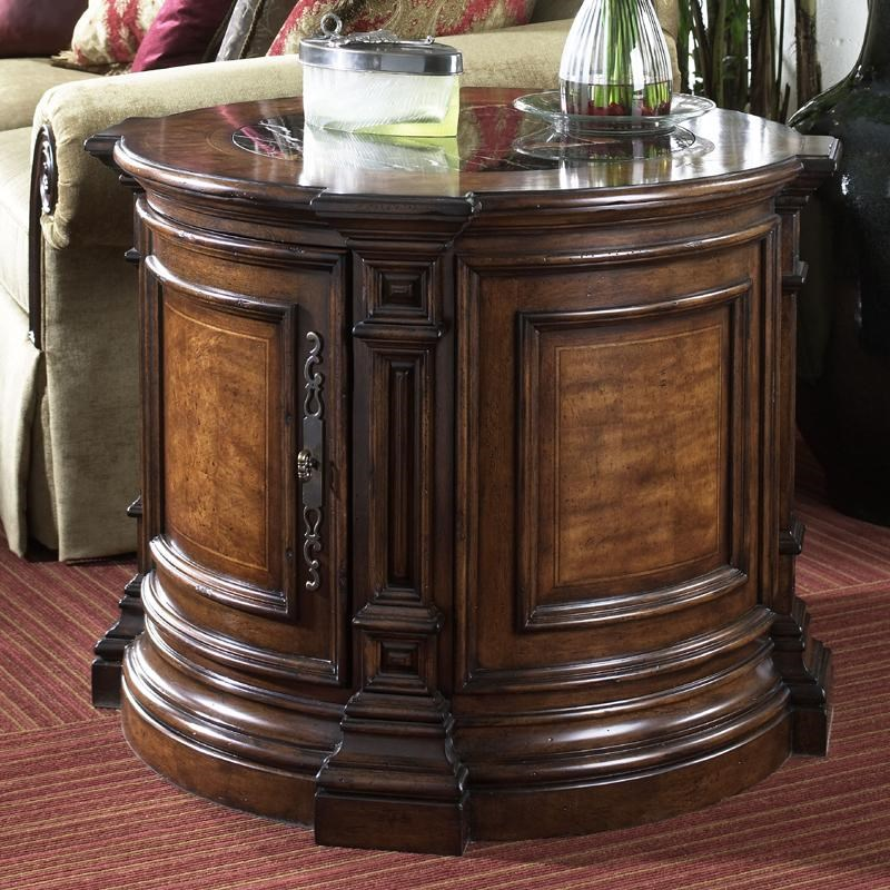 Fine Furniture Design Viniterra Round Commode Table With