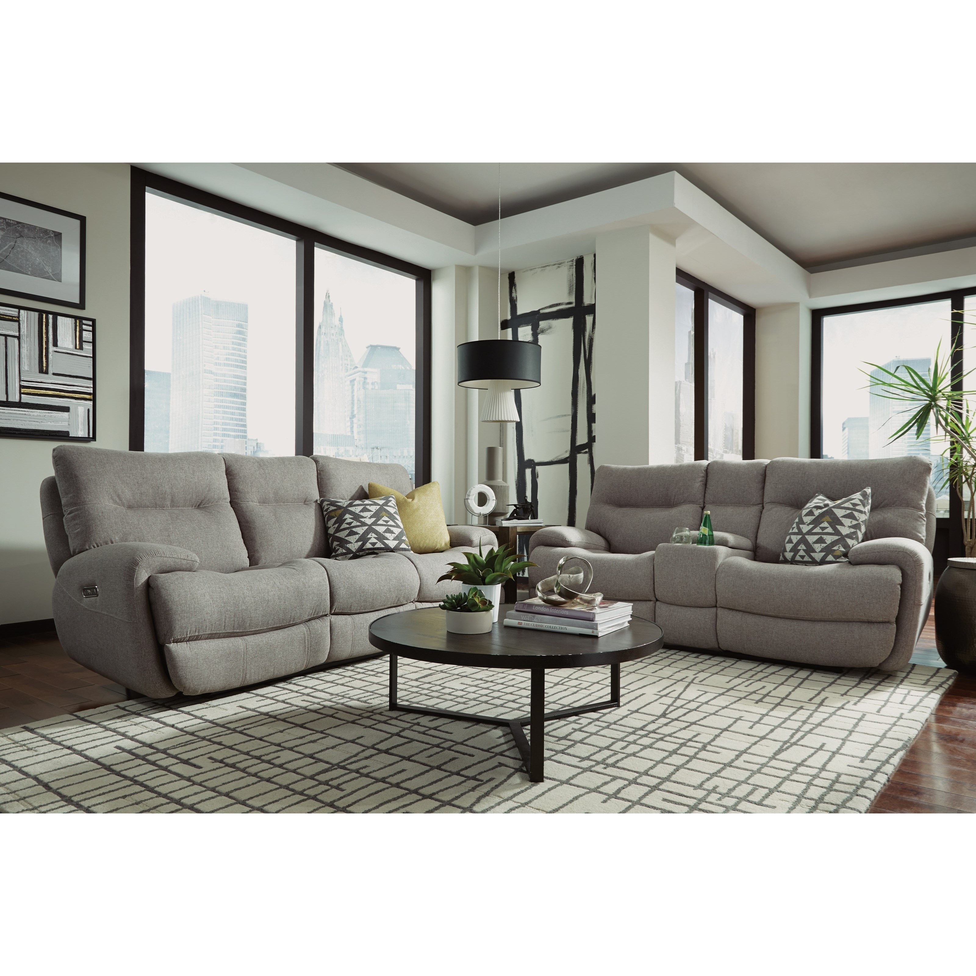 flexsteel double reclining sofa reviews covers for cats delivery estimates northeast factory direct cleveland eastlake latitudes evianpower with power headrest