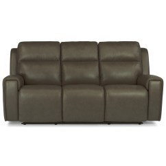 Flexsteel Double Reclining Sofa Reviews How Do You Remove Permanent Marker From Leather Latitudes Jasper 1687 62ph Contemporary Power Jasperpower