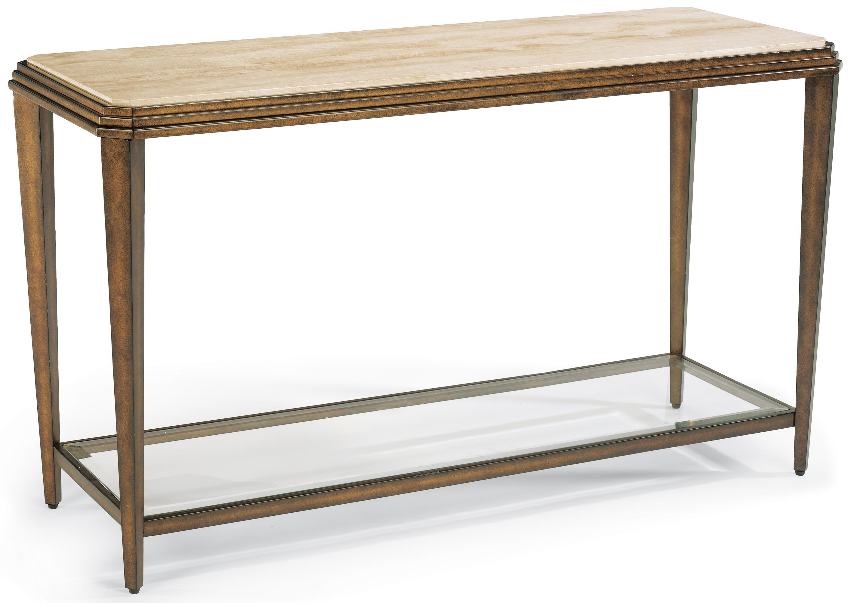 how to make a sofa table top convertible bed with storage flexsteel seville metal marble jordan s home