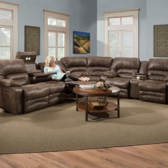 572 Reclining Sectional Sofa With Chaise By Franklin Tan Brown Leather Bed Brayden - Thesofa