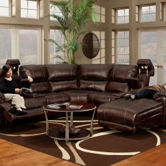 572 Reclining Sectional Sofa With Chaise By Franklin Sofas Discount - ...