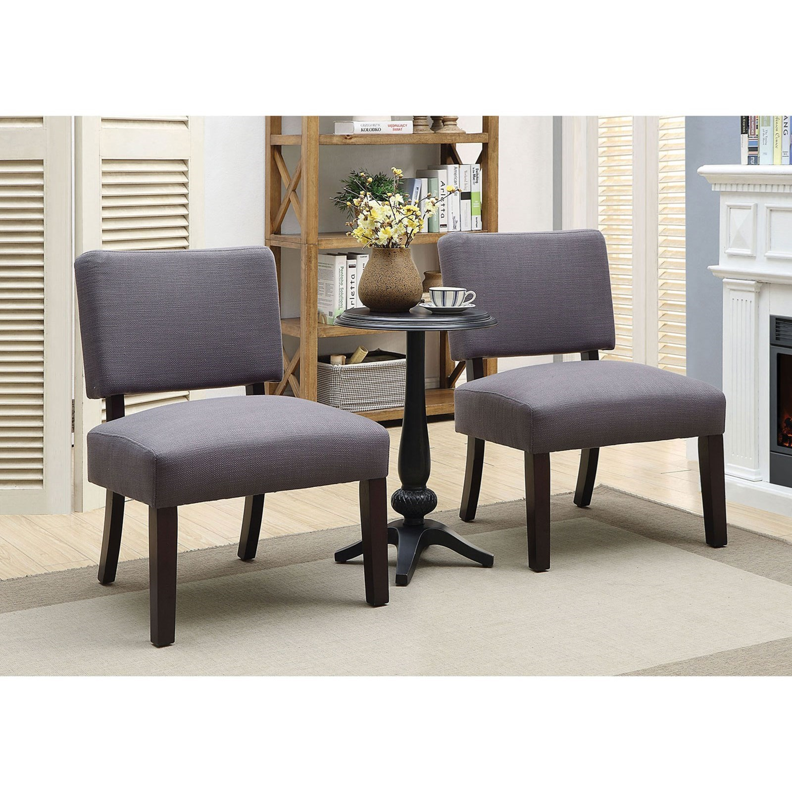 2 accent chairs and table set sit me up chair furniture of america arvid 3 piece with transitional end
