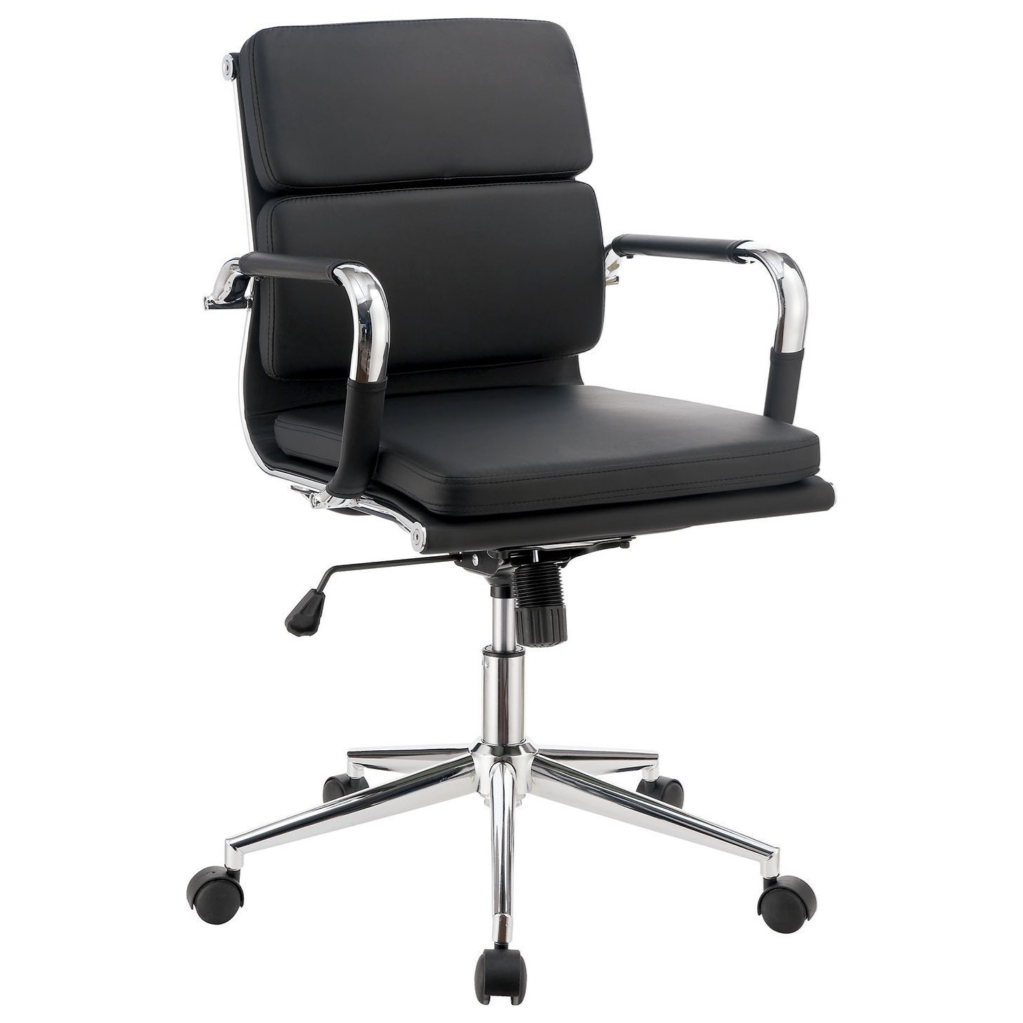 office chairs with wheels hammock chair stand india furniture of america mercedes contemporary casters