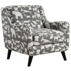 Black And White Accent Chairs With Arms Folding Massage Chair Fusion Furniture 240 240doggie Graphite Mid Century Modern Angled
