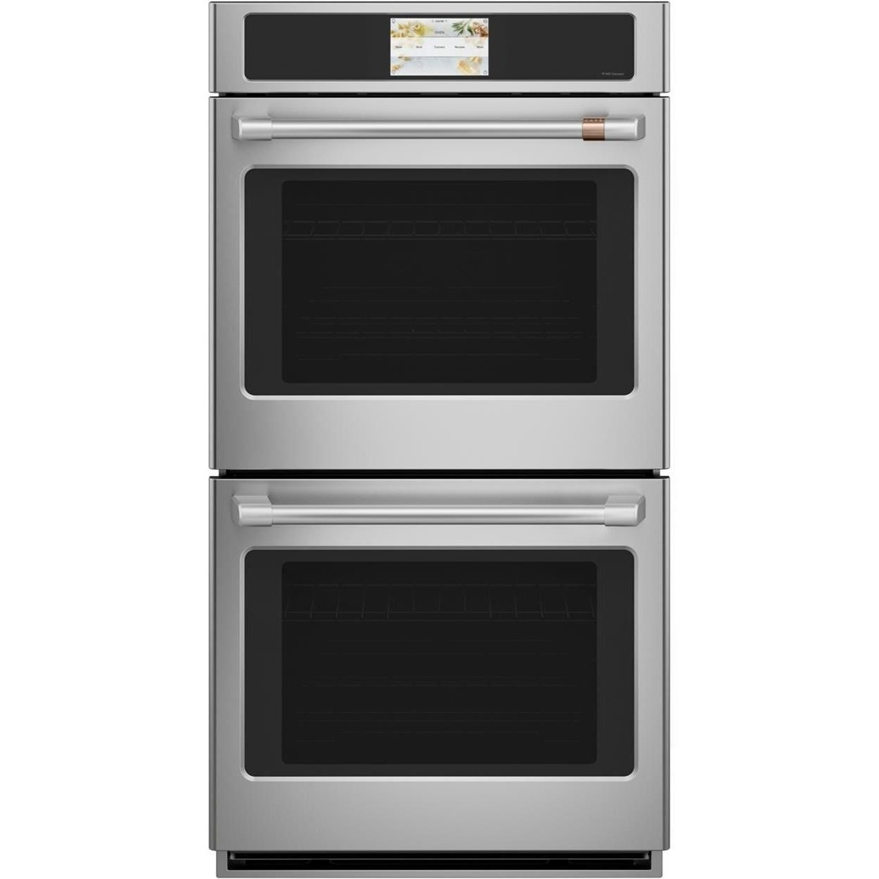 ge cafe electric wall ovens cafe 27 smart double wall oven