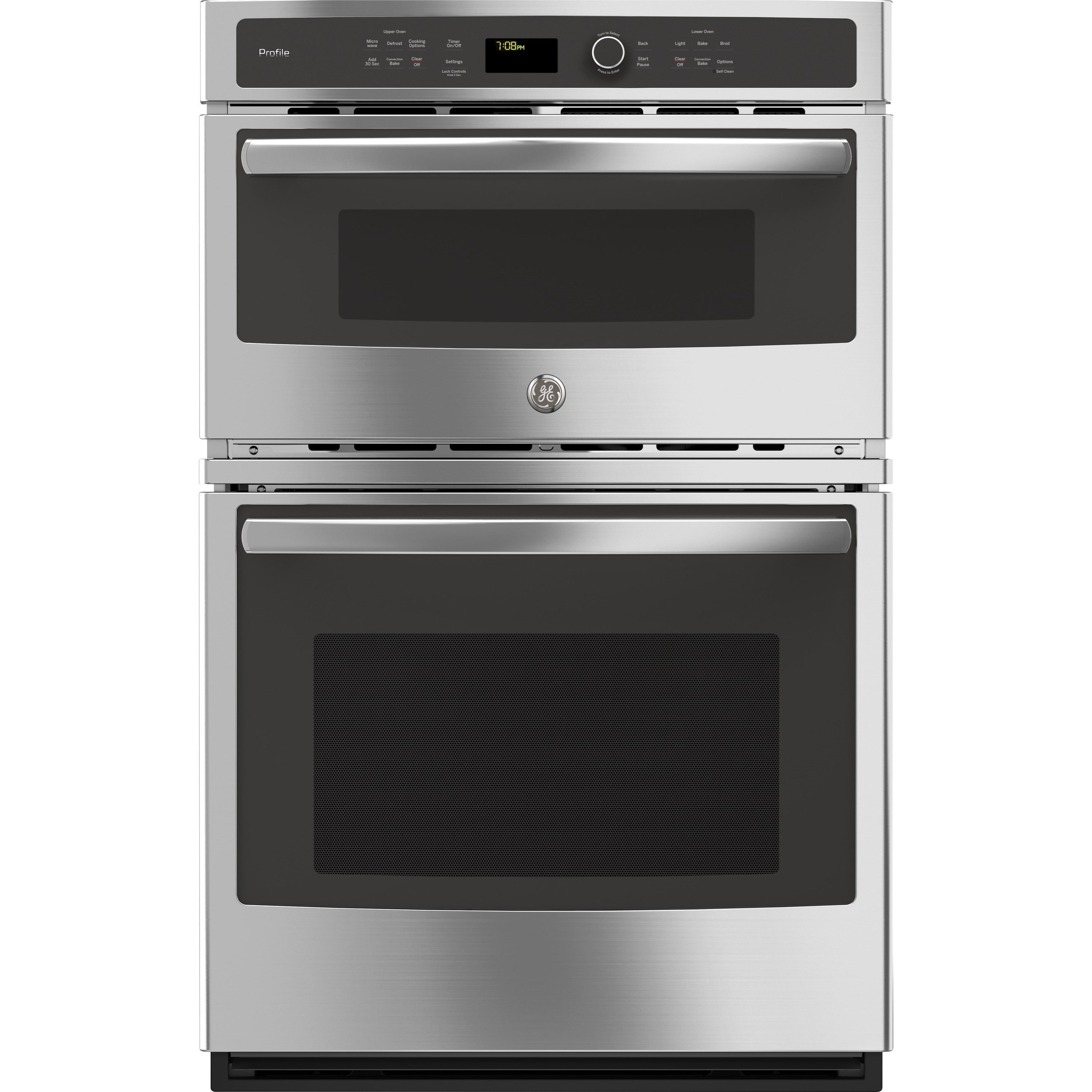 ge profile electric wall ovens ge profile series 27 built in combination