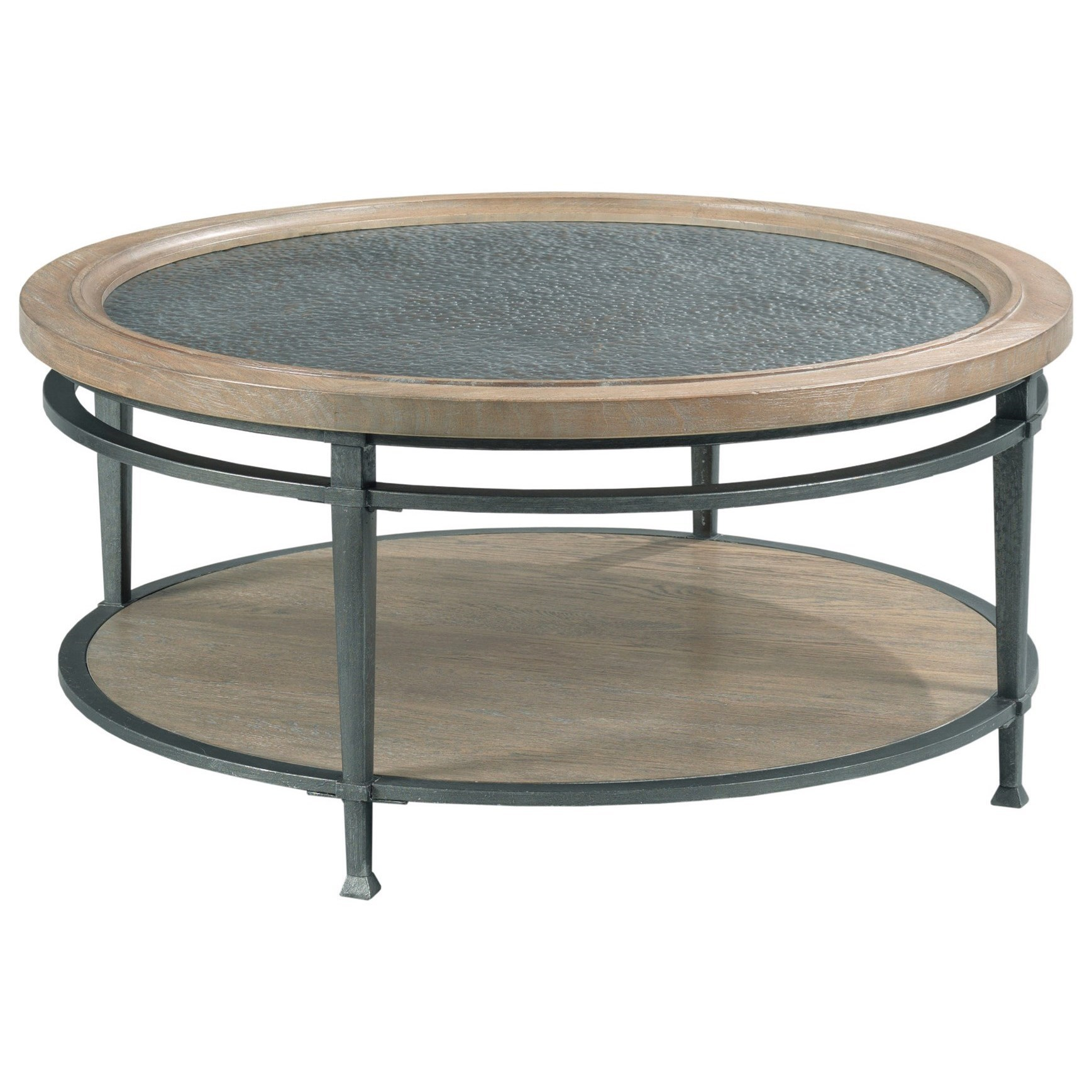 austin round coffee table