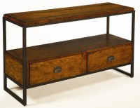 Hammary Baja Entertainment Console with Distressed ...