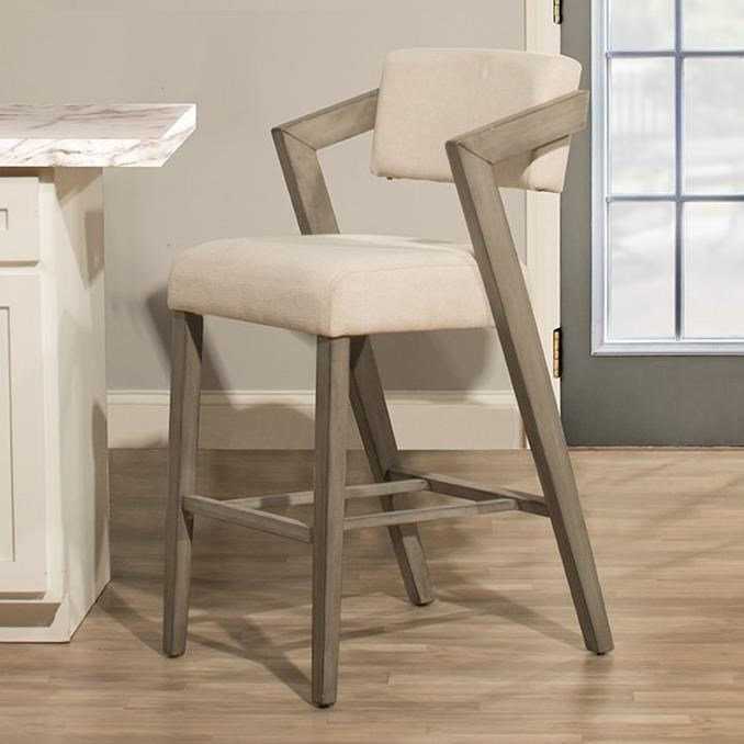 Counter Height Chairs With Arms Snyder Modern Counter Height Stool By Hillsdale At Lindy S Furniture Company