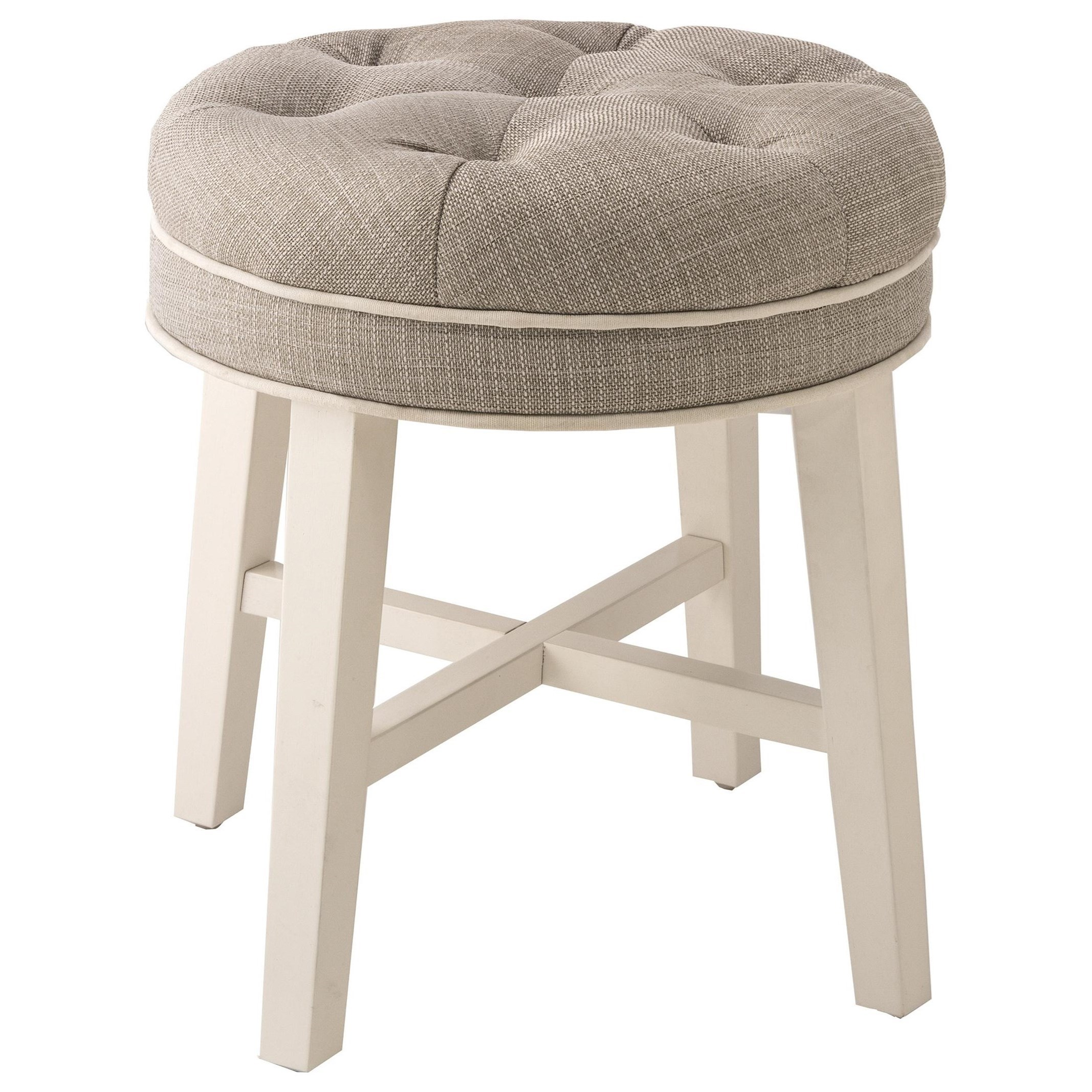 Tufted Vanity Chair Vanity Stools Sophia Vanity Stool With Fabric Seat By Hillsdale At Dunk Bright Furniture