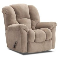HomeStretch 116 Casual Rocker Recliner with Bucket Seat ...