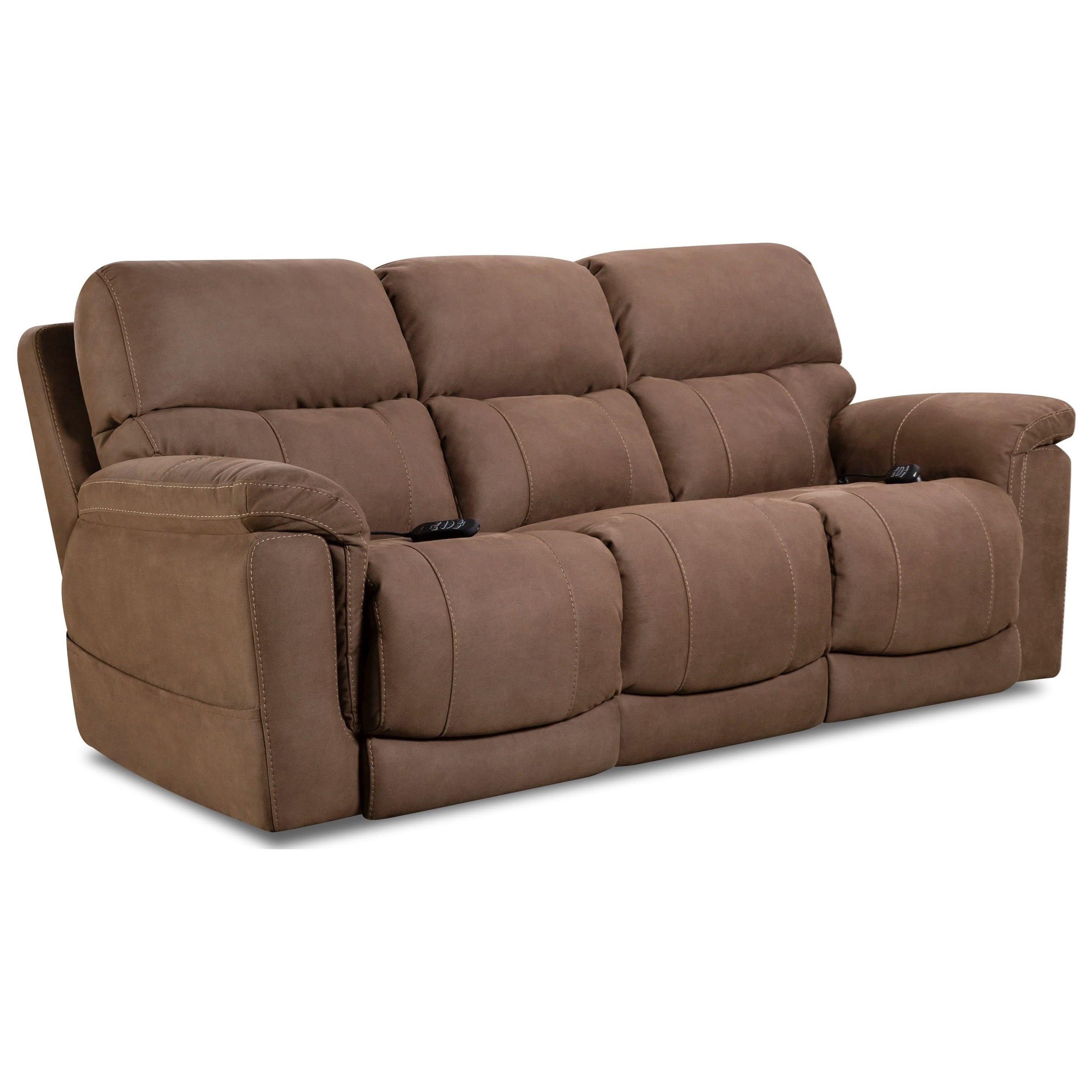 Double Recliner Chair 175 Collection Double Reclining Power Sofa By Homestretch At Dunk Bright Furniture