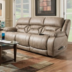 Living Room Reclining Sofas Arrange With Tv Homestretch Enterprise 158 37 17 Casual Power Sofa Headrests By