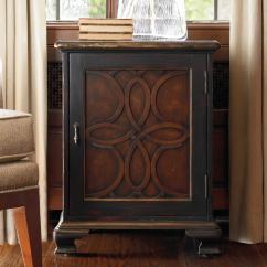 Living Room Accents Tiles Design For Walls Hooker Furniture Accent Door Chest With Celtic Motif Latticework