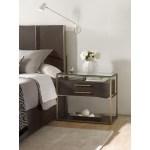 Hooker Furniture Curata One Drawer Modern Nightstand Wayside Furniture Nightstands