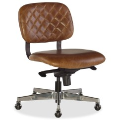 Quilted Swivel Chair Chairs Dining Room Hooker Furniture Romeo Leather Home Office With Pneumatic Lift