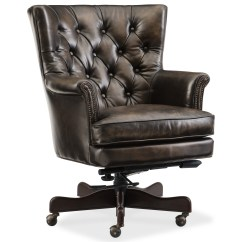 Tufted Desk Chair Lowes Outdoor Rocking Chairs Hamilton Home Executive Seating Theodore Leather Office With Back By