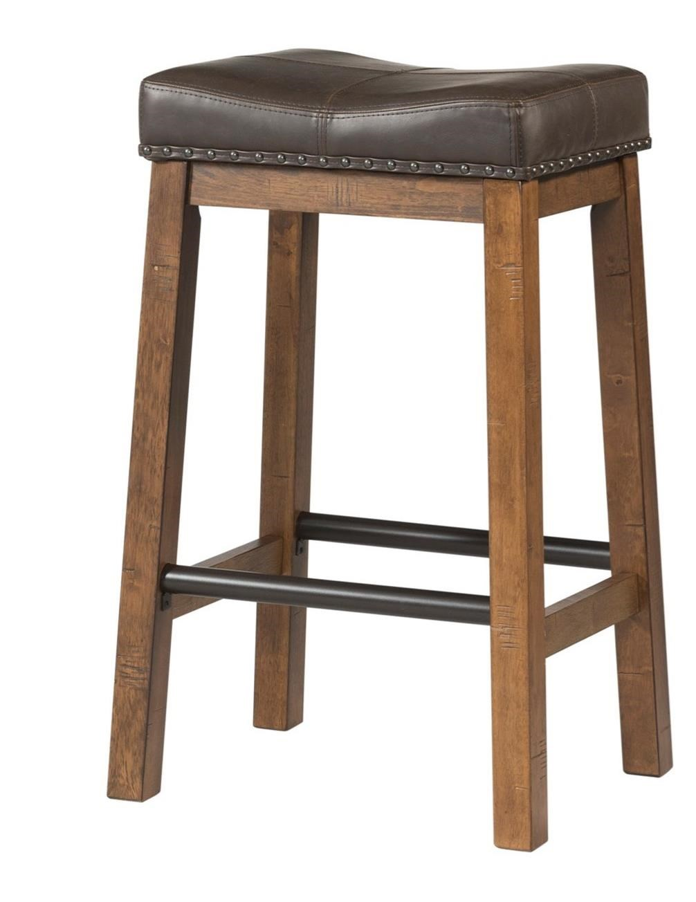 Upholstered Bar Chairs Taos Rustic 30