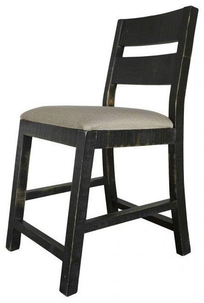 chair stool black aluminum dining chairs target international furniture direct bar stools d371 24 pueblo side