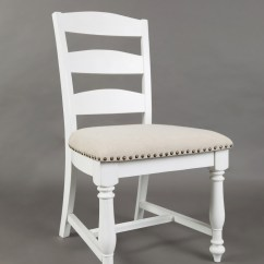 Ladder Back Dining Chairs Glass And Wood Table Jofran Castle Hill 1776 140kd Chair Dunk Bright Furniture Side