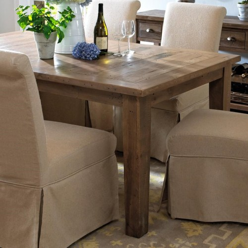 1 Southern Pine 60 Round Plank Top Farmhouse Dining Table Shabby