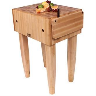 john boos kitchen island gadget gifts carts and islands 10 deep natural wood butcher islandspca block