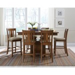 John Thomas Select Dining Counter Height Table And Chair Set With Storage And Butterfly Leaf Furniture Barn Pub Table And Stool Sets