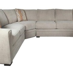 Customize Your Sectional Sofa Build Own Online Santa Monica Lexie Casual With Accent Pillows By