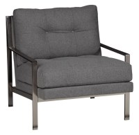 Jonathan Louis Accentuates Mansfield Metal Accent Chair ...