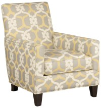 Jonathan Louis Accentuates Contemporary Accent Chair with
