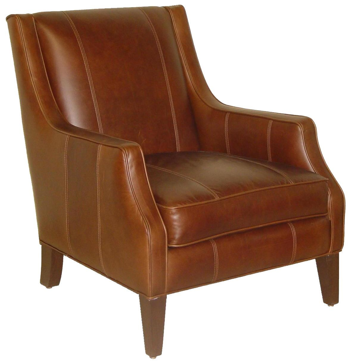modern leather accent chairs bag high chair accentuates miles contemporary rotmans wing