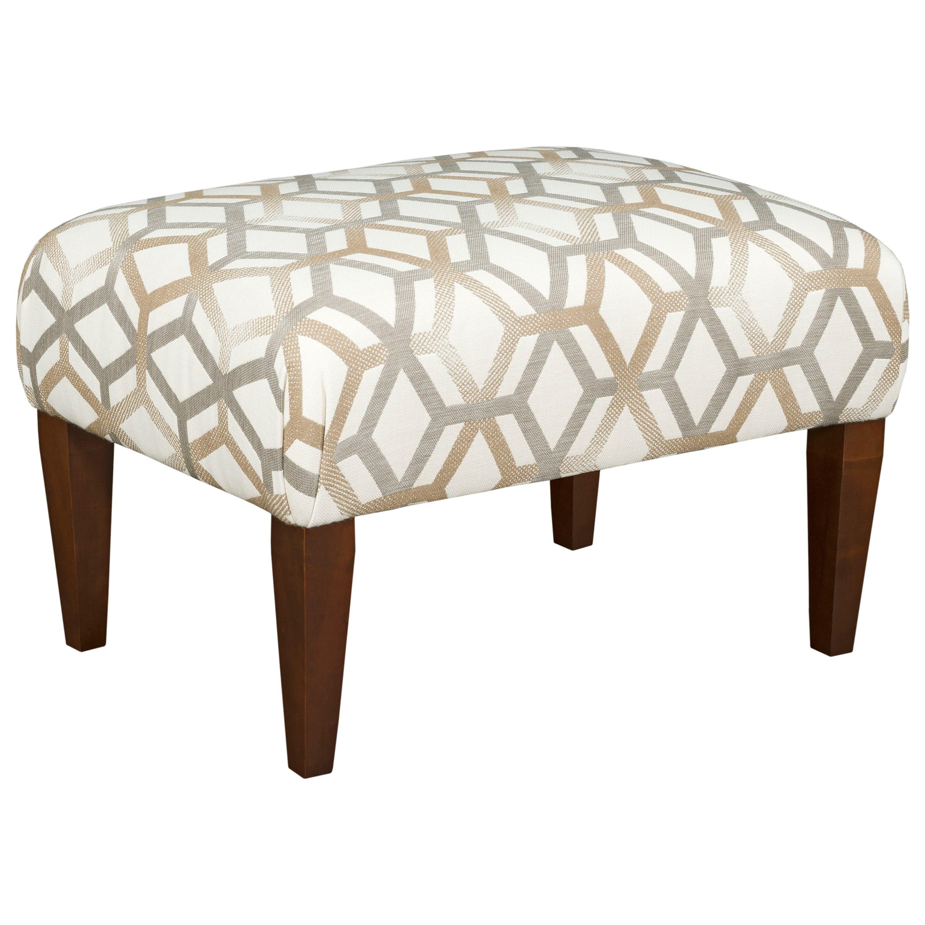 kincaid furniture custom ottoman