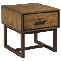 Kincaid Furniture Traverse Woodworker Craftsman End Table ...