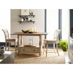 Kitchen Island Set Best Rated Cabinets Weatherford 3 Piece Cottage Tall Gathering Table And Kincaid Furniture Weatherford3 Chair