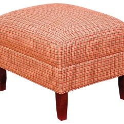 Chairs And Ottomans Upholstered Medicine Ball Chair Base Biltmore King Hickory Accent Francis Ottoman With Tapered Mission Style Legs By