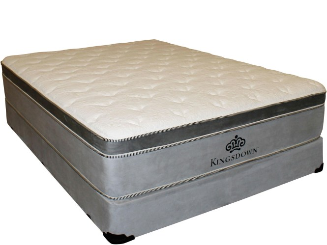 Kingsdown Anniversary Gold King Euro Top Mattress Becker Furniture World