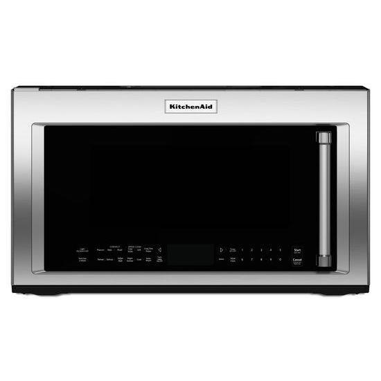 microwaves kitchenaid 1 9 cu ft 1200 watt convection microwave