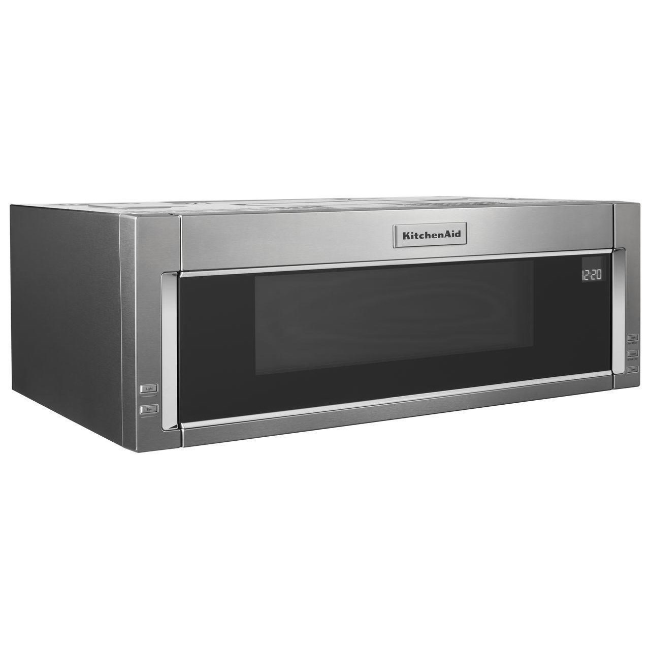 microwaves kitchenaid 1000 watt low profile microwave hood combination by kitchenaid at furniture and appliancemart