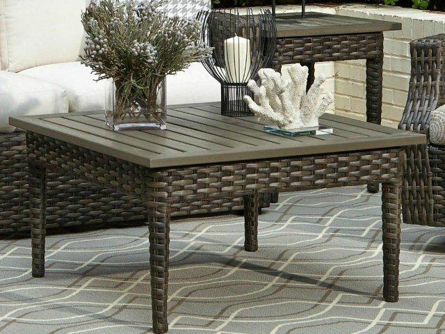 elliston place tampa outdoor coffee table | morris home | outdoor