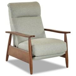 Push Back Chair Lawn Webbing Walmart Madera Mid Century Modern Recliner Rotmans High Leg