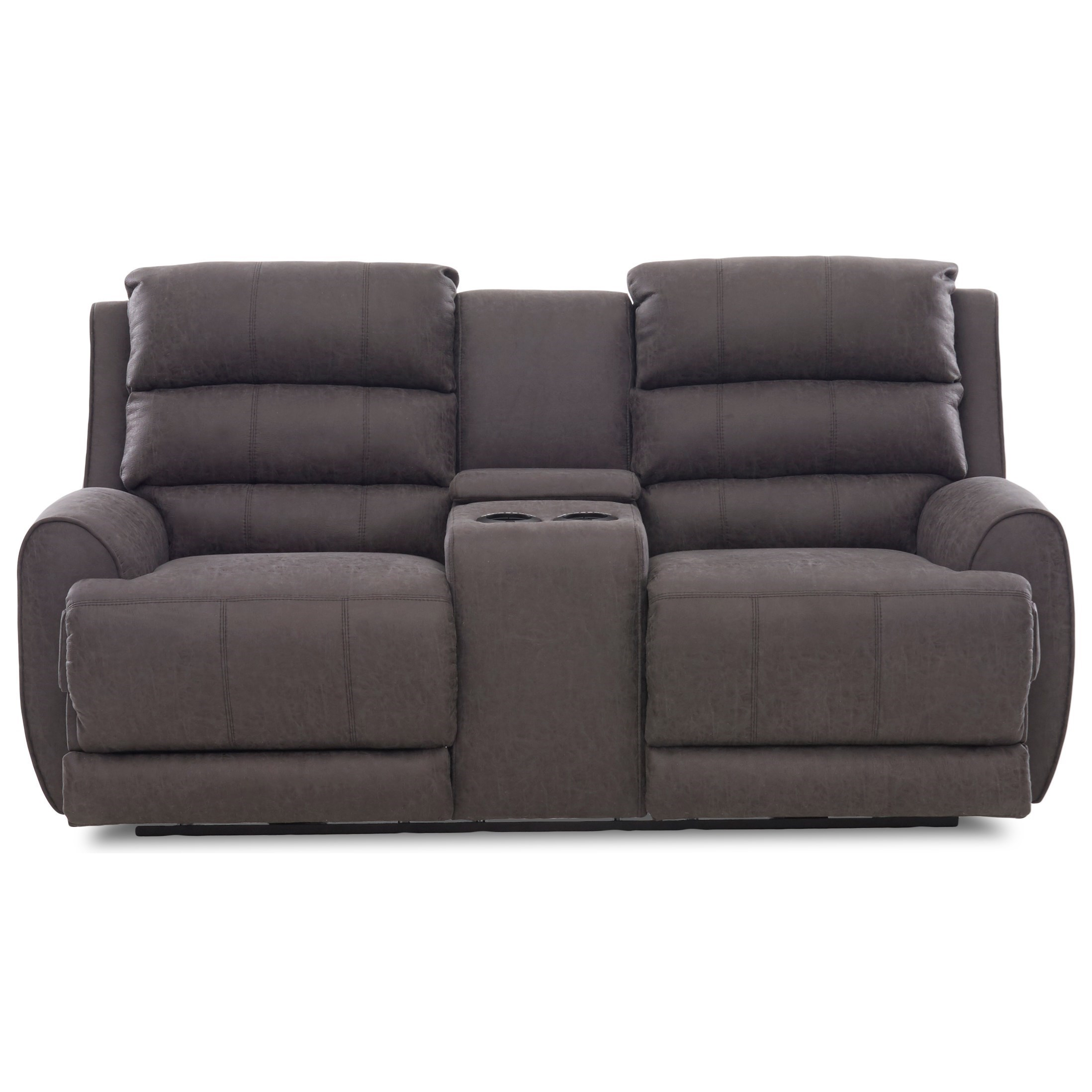 klaussner grand power reclining sofa beds for small apartment gleeson contemporary console loveseat with gleesonpower love w pwr head