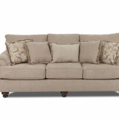 Bright Sofa Gp Canapele Klaussner Greenvale Ok73500fs Crisscross Putty Traditional Stationary With Rolled Arms And Bun Feet Dunk Furniture Sofas