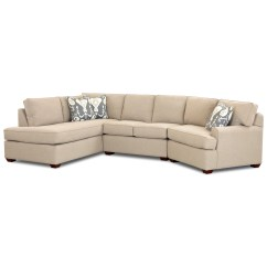 Angled Sectionals Sofas Big Sofa Set Design Klaussner Hybrid Sectional With Left Facing Chaise By