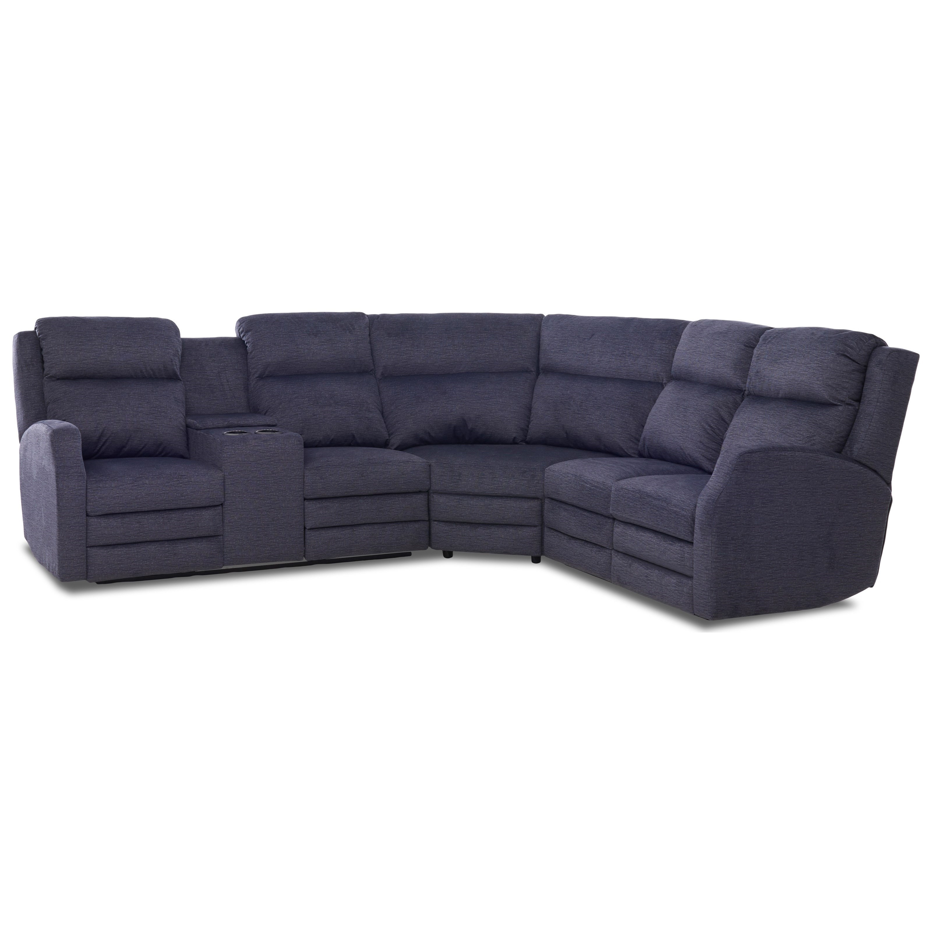 kamiah 4 seat power reclining sectional sofa