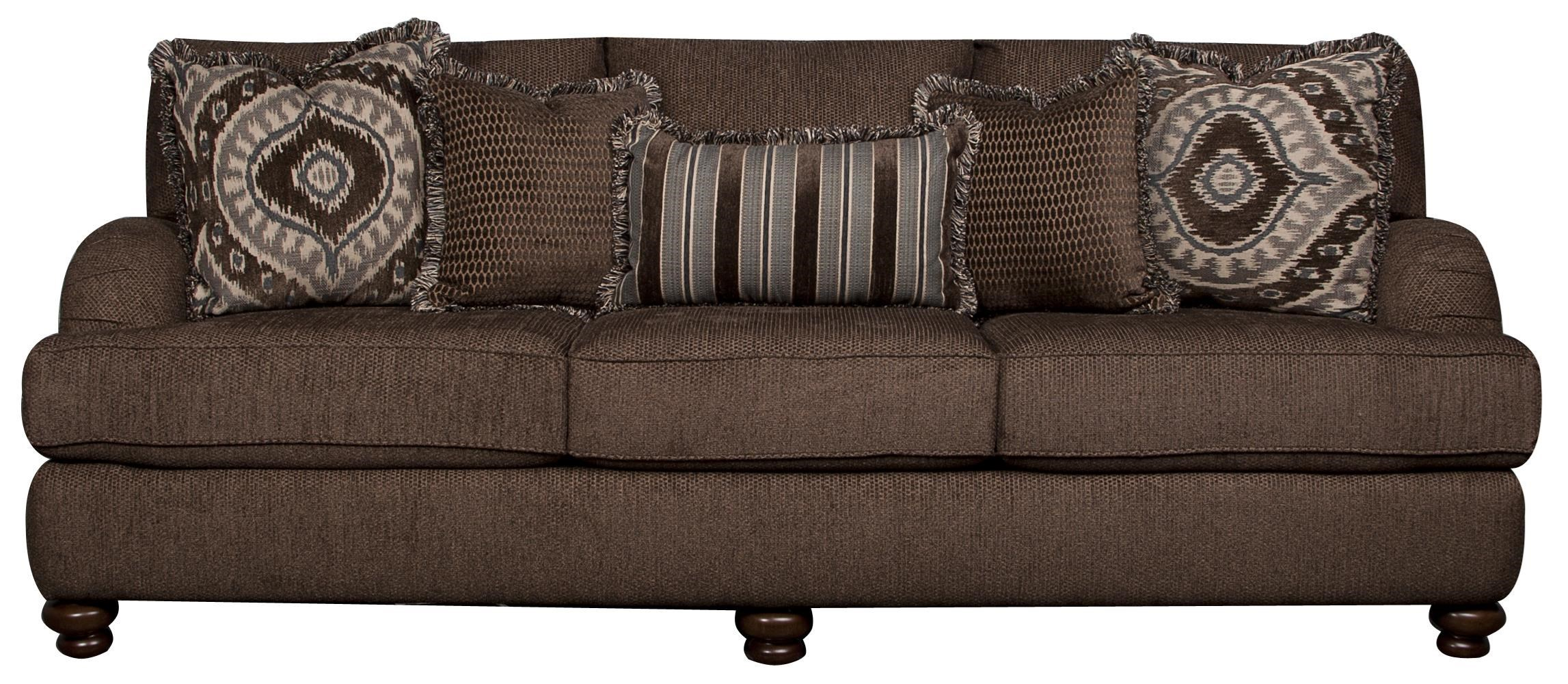 classic sofa austin stores elliston place kendall with accent pillows morris kendallkendall